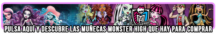 Comprar muñecas Monster High