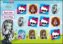 Juego de Memoria Monster High