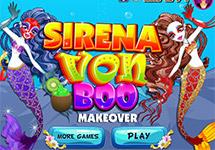 Juego de Vestir Sirena Von Boo