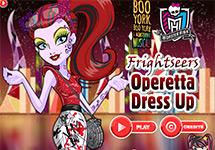 Juegos De Vestir A Operetta Juegos Monster High